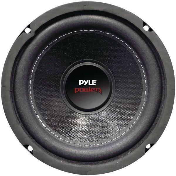 "Pyle PLPW6D Power Series Dual Voice-Coil 4? Subwoofer (6.5"", 600 Watts)"