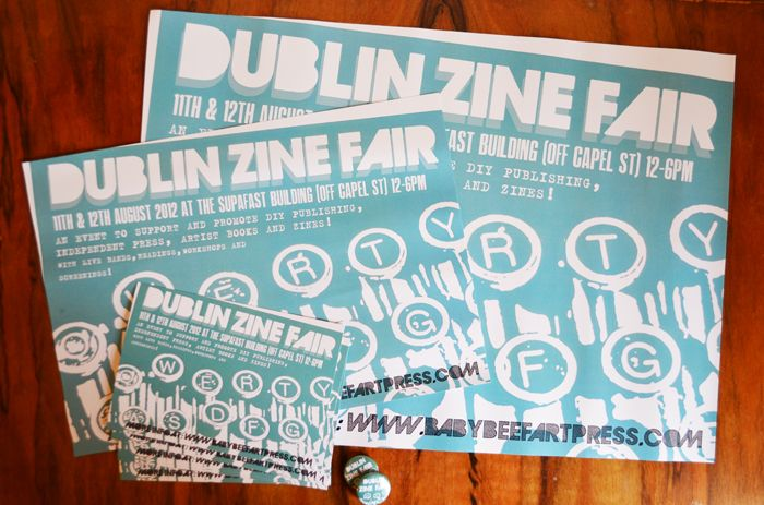 Zine Fair 2012 Posters