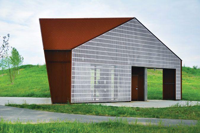 Riverview Park Visitor Service Building, Louisville, KY, De Leon + Primmer