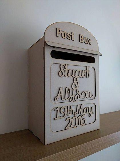 Best 25 Wedding card post box ideas – Wedding Card Box Alternatives