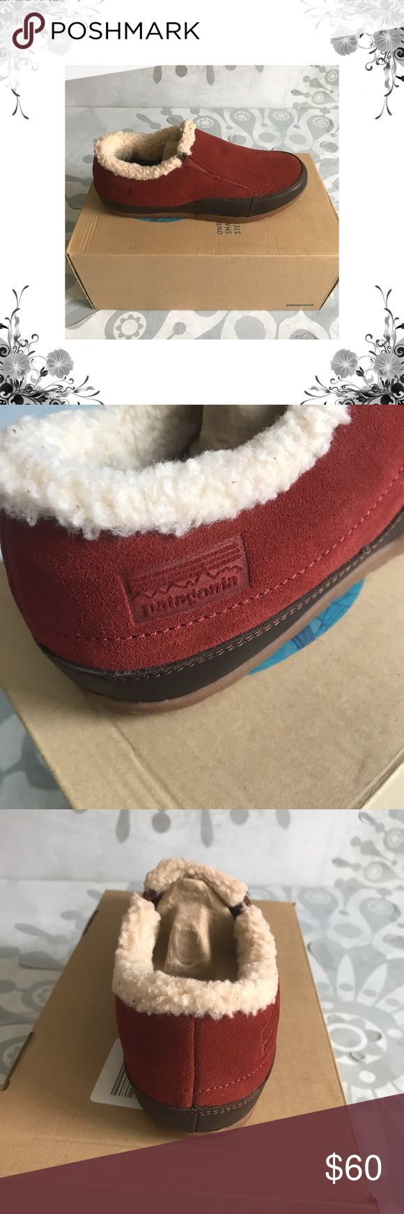 """Patagonia Activist Fleece Moc Loafers These Womens Patagonia Activist Fleece Moc Loafers are crafted with a Leather Upper. Fabric type is Suede. Slip On. Manufacturer Color is Rusted Iron. New with box. Heel Height is approx 1/4"""". Platform Height is approx 1/2"""". Faux Fur lined. Bundle for discounts! Thank you for shopping my closet! Box 1 Patagonia Shoes Flats & Loafers"""