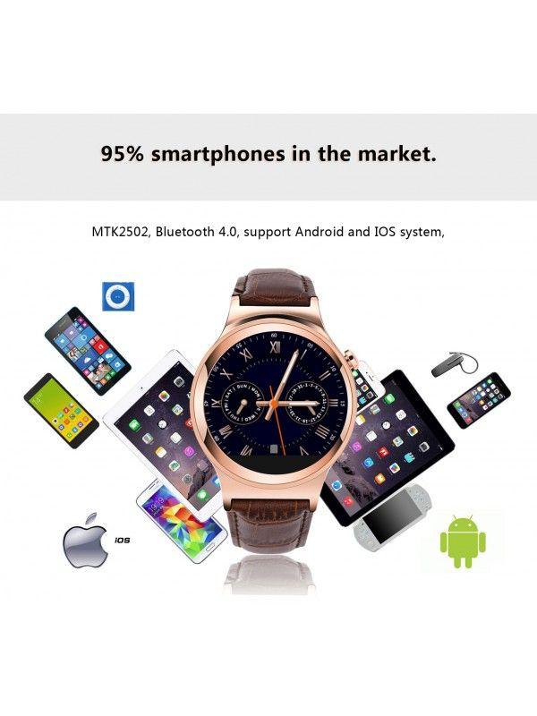NO1 S3 Smart Watch Phone (Gold)