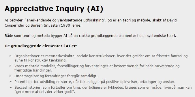 Appreciative Inquiry (AI) » Helheden