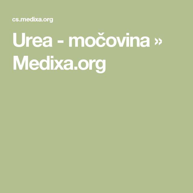Urea - močovina » Medixa.org