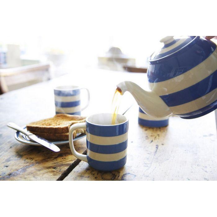 Cornish Blue Tea set for four with Mugs - Cornishware® u2013 Classic British Kitchenware by  sc 1 st  Pinterest & 78 best cornish blue u0026 white images on Pinterest | Dishes ...