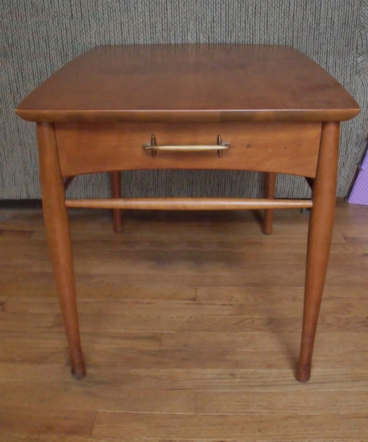 Mid Century Henredon night stand - side table - Heritage ...