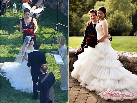 america ferrera's wedding gown/veil. | America Ferrera ...