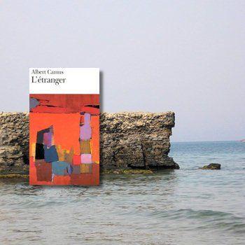 un rivage en algérie, où se déroule le roman / couverture de l'édition folio
