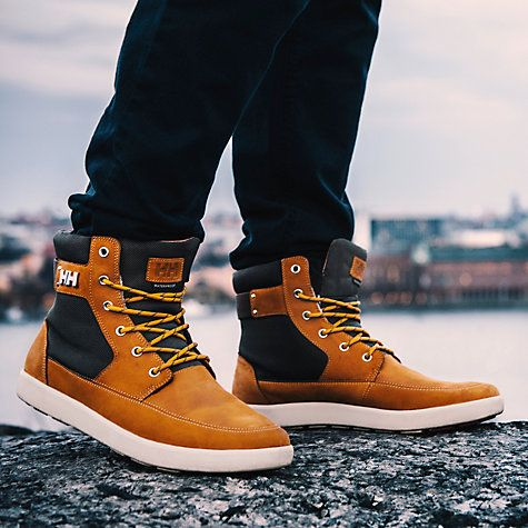 Buy Helly Hansen Stockholm Men's Boot, Beige Online at johnlewis.com