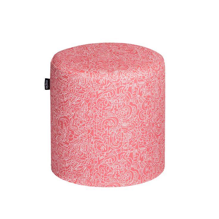 17 meilleures id es propos de pouf rond sur pinterest repose pieds pouf tuft et salons cosy. Black Bedroom Furniture Sets. Home Design Ideas