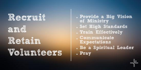 Recruit, volunteers, retain, retaining, recruiting, volunteer