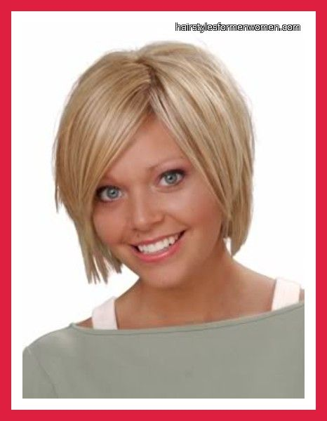 Beautiful Best Hairstyles For Round Faces And Thin Hair Pictures ...