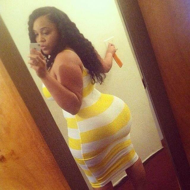 ebony tight ass skirt - Booty