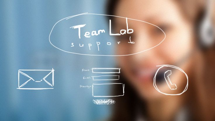 Behind the scenes of TeamLab support...