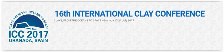 #geocongress XVI ICC International Clay Conference -- 16 Jul 2017 - 21 Jul 2017.Granada, Spain. The conference is planned to cover five days. On each day there will be a plenary lecture on a cutting-edge topic of general interest for the clay science community.  Emphasis will be on a maximum of parallel sessions, combined with a fully integrated poster presentation facility comprising up to 200 posters...