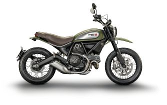 Ducati Scrambler. Looks like a good bug out bike.