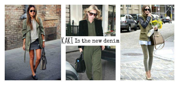 Kaki is the new denim - supercut.it