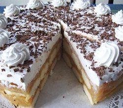 Kekszes krémes,Puncsos keksz-szelet,