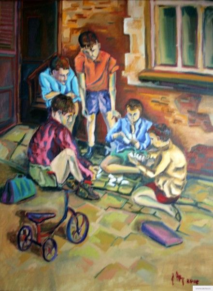 """""""Children"""" painting picture / photoДети Холст\маслоearta.ru"""