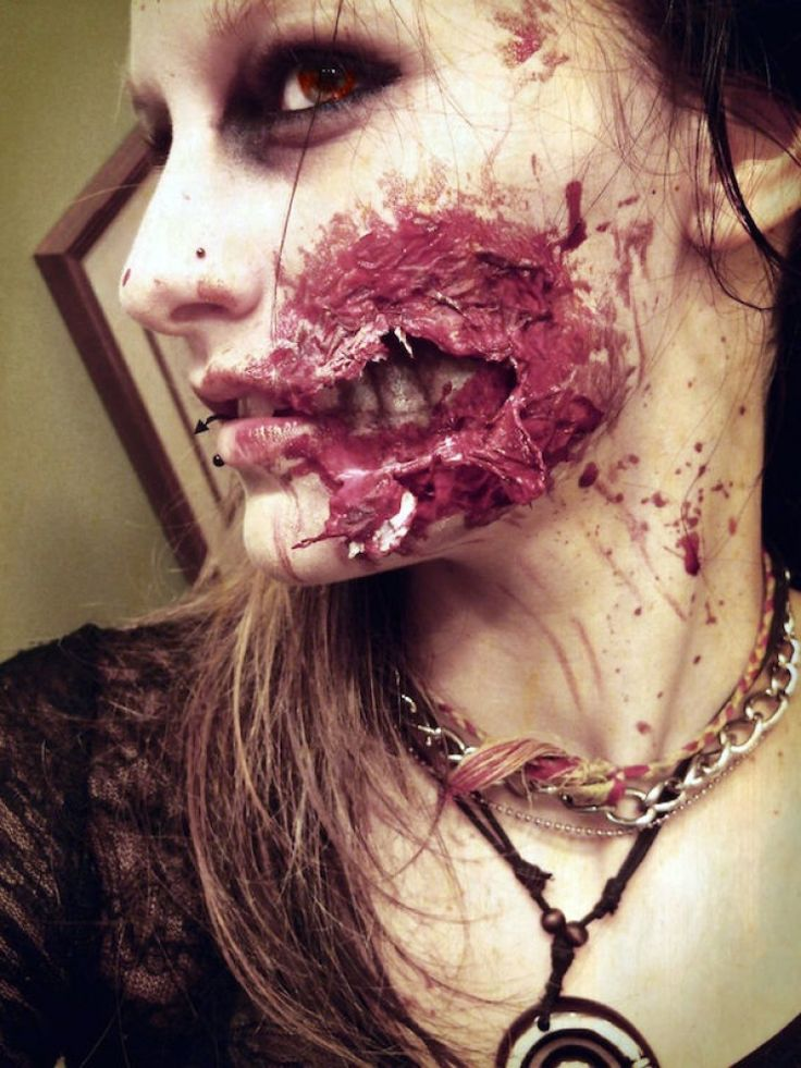 maquillage Halloween.