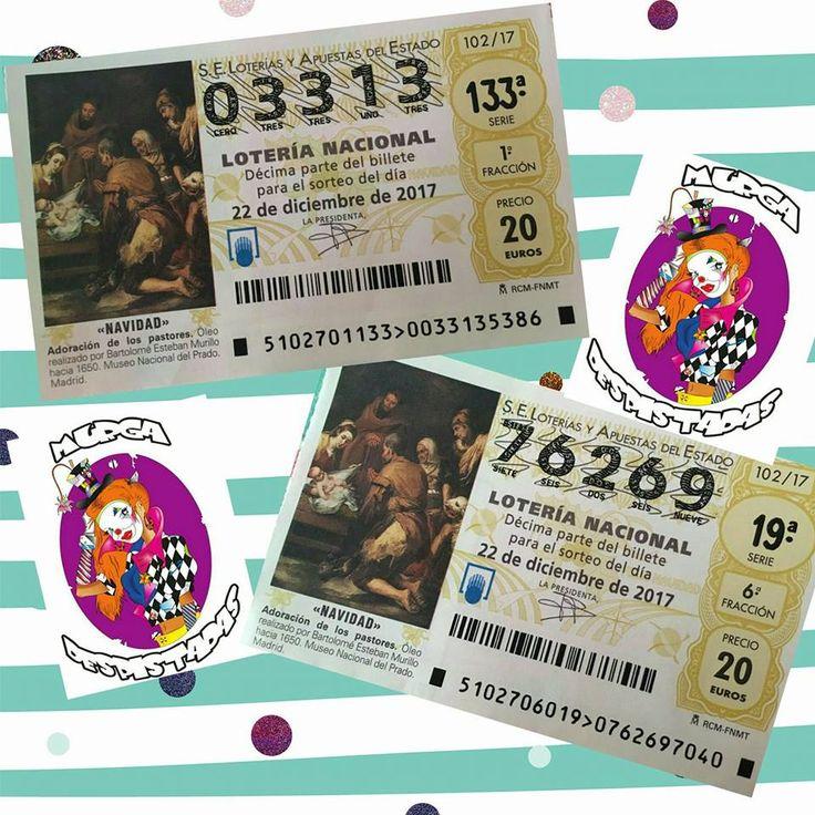 Grupo Mascarada Carnaval: Lotería de Navidad Despistadas 2018