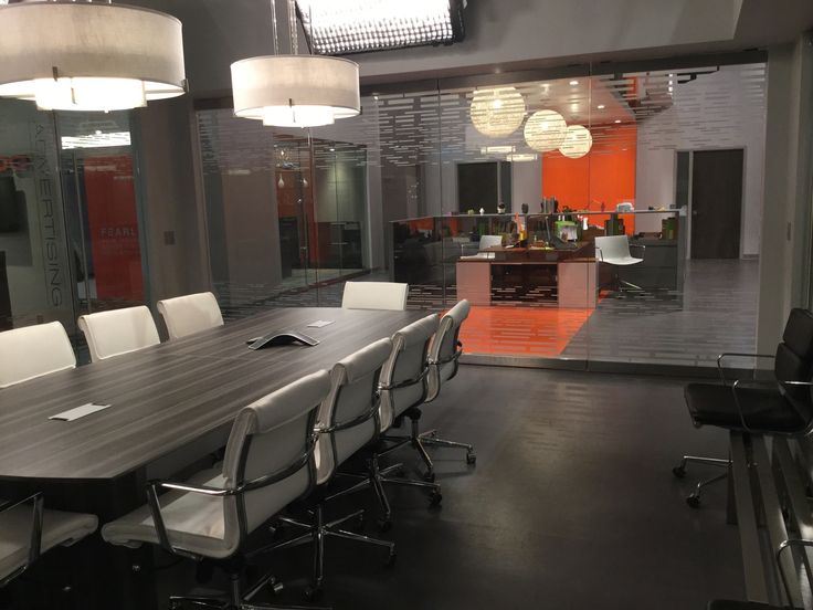 Black ish abc series stevens lido office set for Office design and productivity
