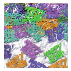 Confetti New Year's Metallic Mix 1/2 oz.