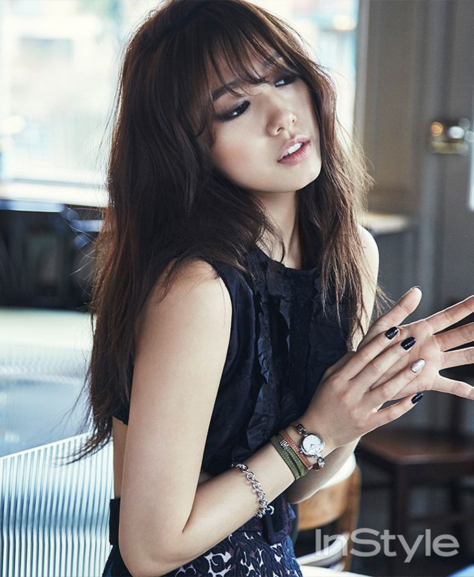 Park Shin Hye for Instyle - April 2015