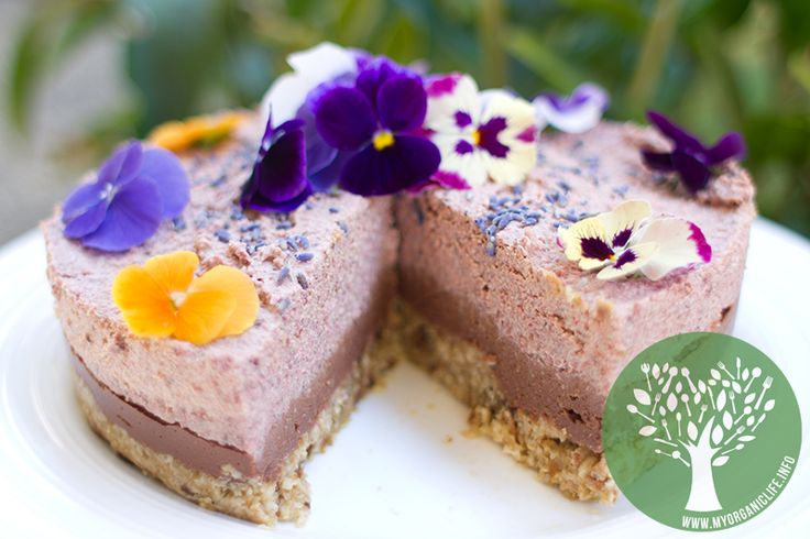 A triple layered raw cheesecake by Bo from www.myorganiclife.info #raw #organic #vegan #recipes #foodie #blogger #healthy