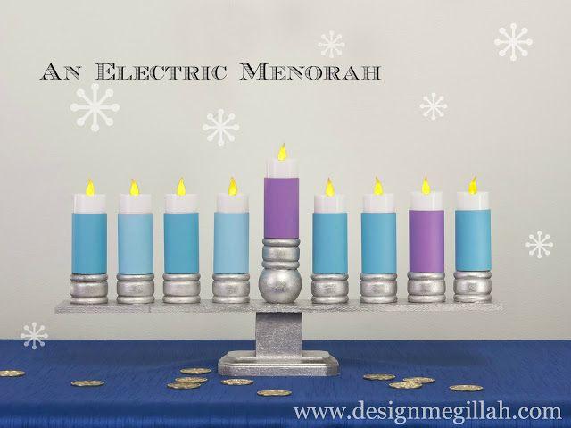 Design Megillah: An Electric Menorah for Children