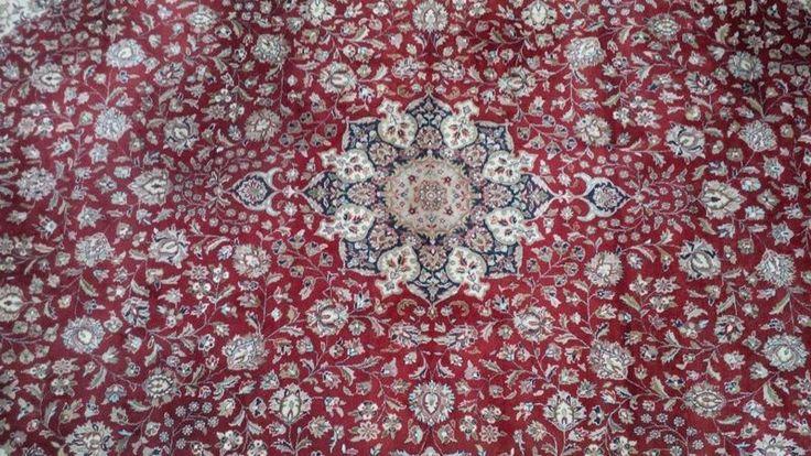 Perzisch Mashad Tapijt Handgeknoopt 344 x 271 cm