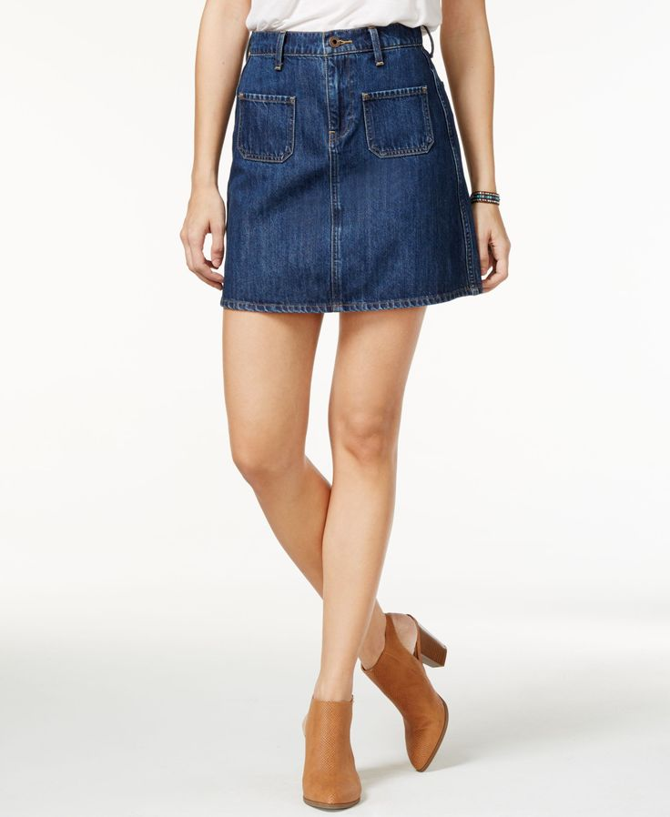 lucky brand denim mini skirt products