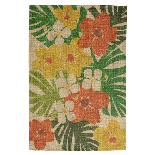 Floral Kitchen Towel Tiki Oasis Pinterest Gardens Floral And