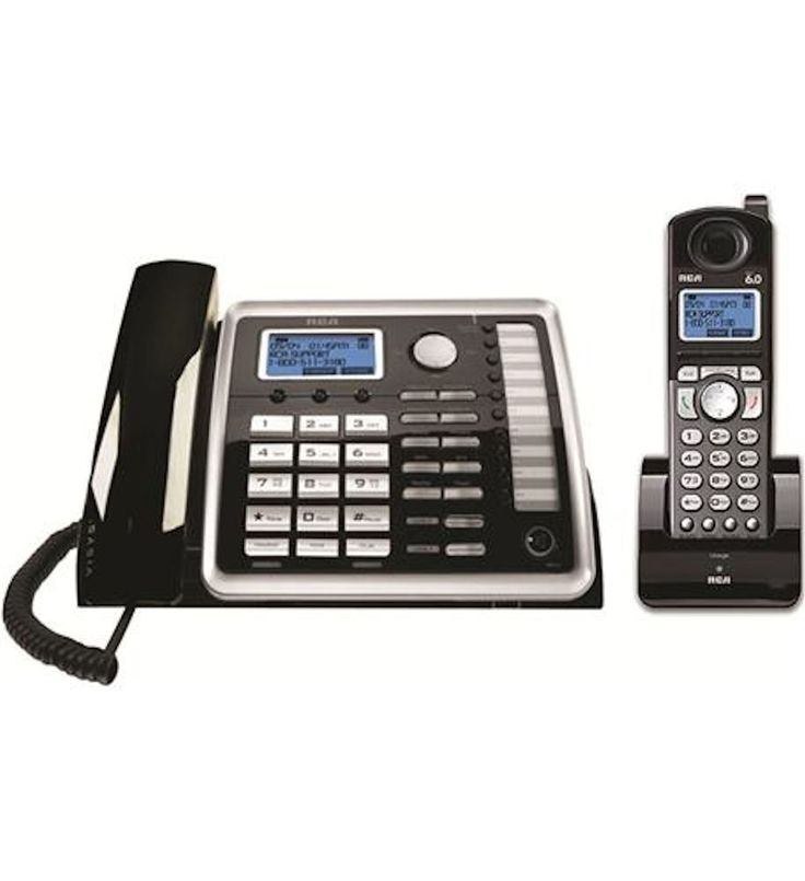 Rca 25255re2 2 Line Corded Cordless Expandable Speakerphone Digital Answ Cid