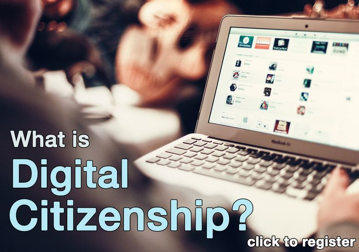 Digital Citizenship workshop (1.5 hours): Students might be experts at using their own devices but often still need a teacher's guidance in knowing how and when to use their technology for learning. How can we help our students with information literacy skills (critical thinking, search strategies, copyrights) and safe and responsible on-line behavior?