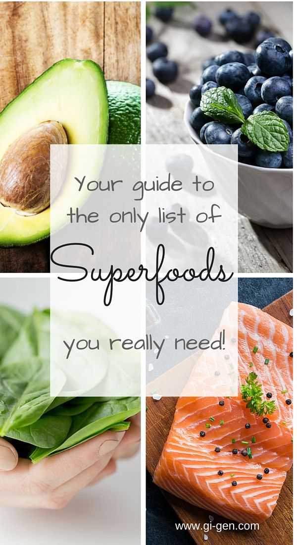 There is no one agreed list of superfoods, so I've come up with my own - healthy, delicious, versatile and inexpensive superfoods. The only list you will ever need!
