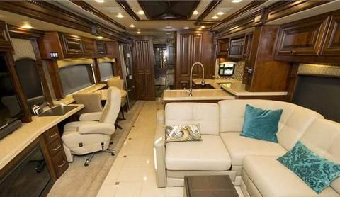 The 2015 Monaco Dynasty 45 Palace Class A Diesel Motorhome Interior Luxury  Motorhomes Pinterest Discover More Ideas About Motorhome Interior The 2015  Monaco ...