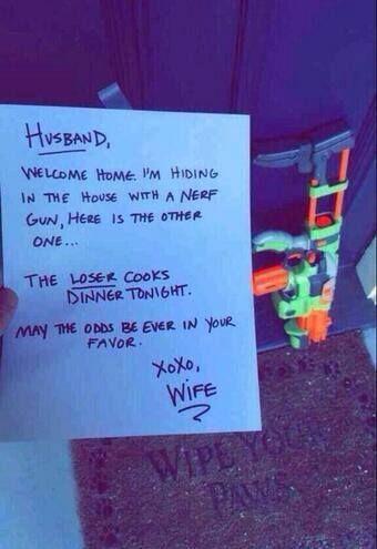 Husband and wife game <3