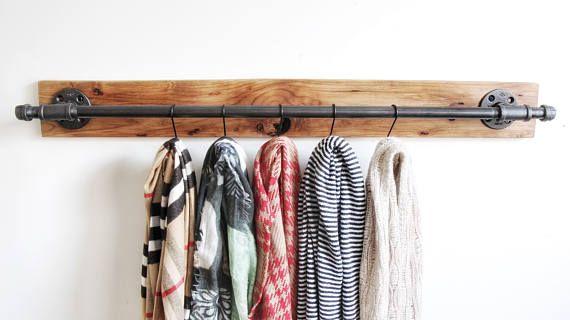 Rack industrial bufanda estante del cinturón gancho bufanda
