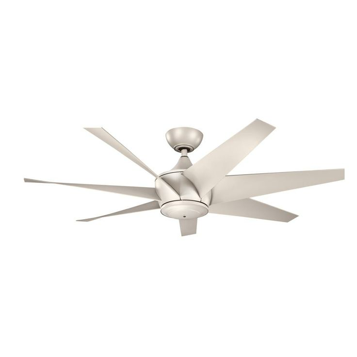 Kichler lighting kichler lighting lehr ii antique satin silver ceiling fan without light