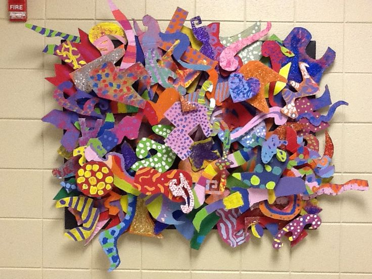 Frank Stella sculpture. Group project / 4th