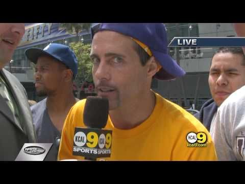 I saw this dude being interviewed before a Laker game. I think this guy is the biggest and weirdest Kobe Bryant fan ever.  I edited together the best parts. Hope it's good quality!!!