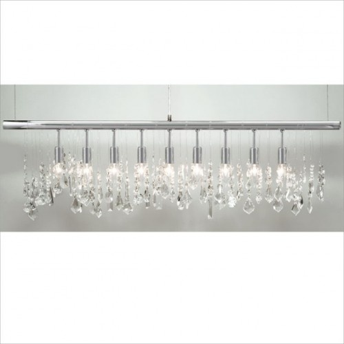Z Gallerie Light Fixtures: Linear Strand Crystal Chandelier This Chandelier Feels