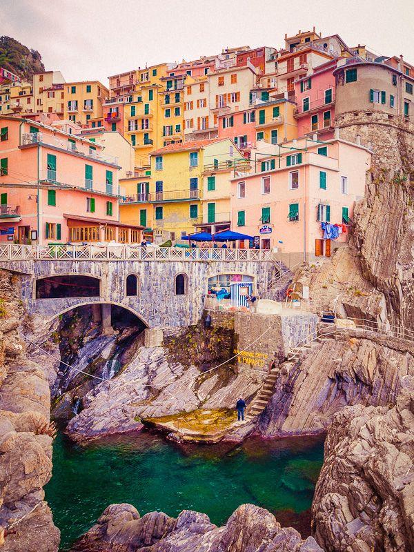Cinque Terre, Manarola, Italy  by miemo