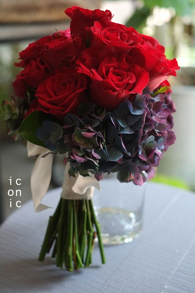 Rose,Hydrangea,wedding bouquet,iconicflower