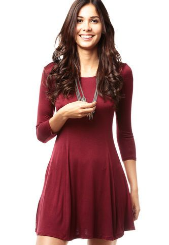Mu00e1s De 25 Ideas Increu00edbles Sobre Vestido Vinotinto En Pinterest | Vestidos De Color Vino ...