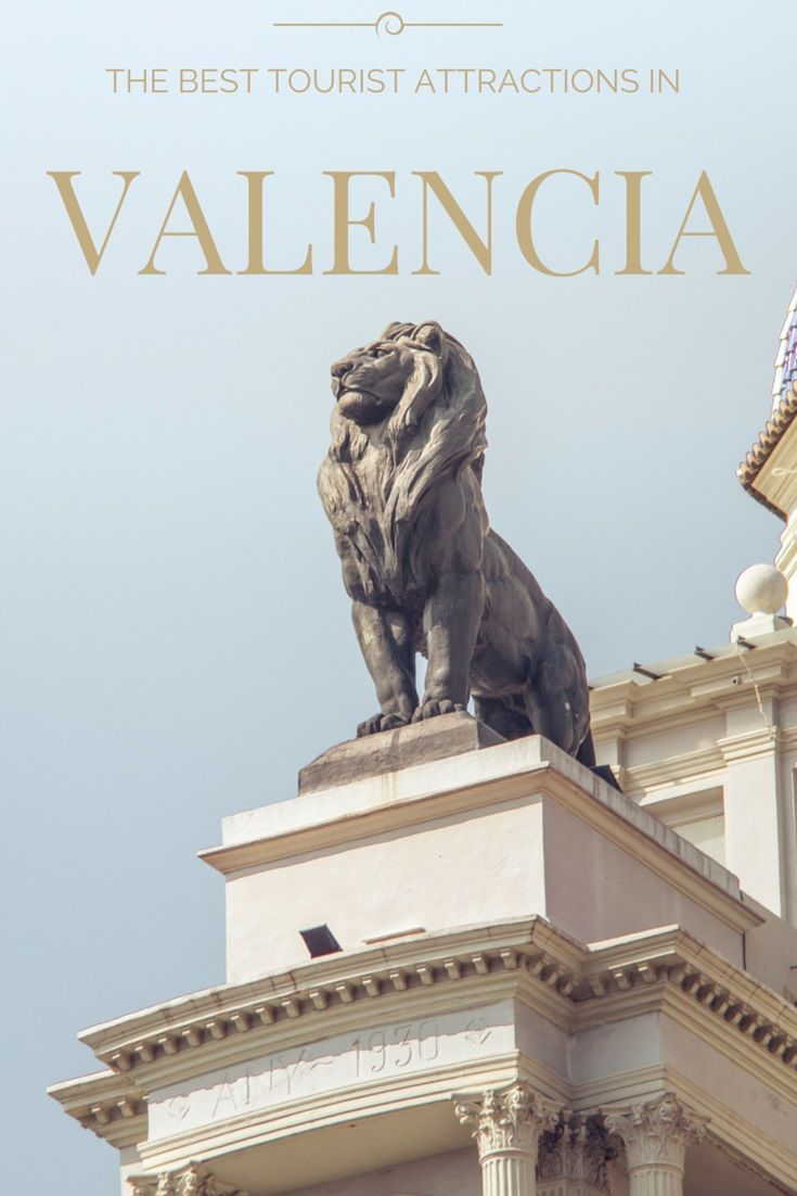 The Best Tourist Attractions in Valencia, Spain. Click through for full city guide ---> http://www.mappingmegan.com/what-to-do-in-valencia-spain/