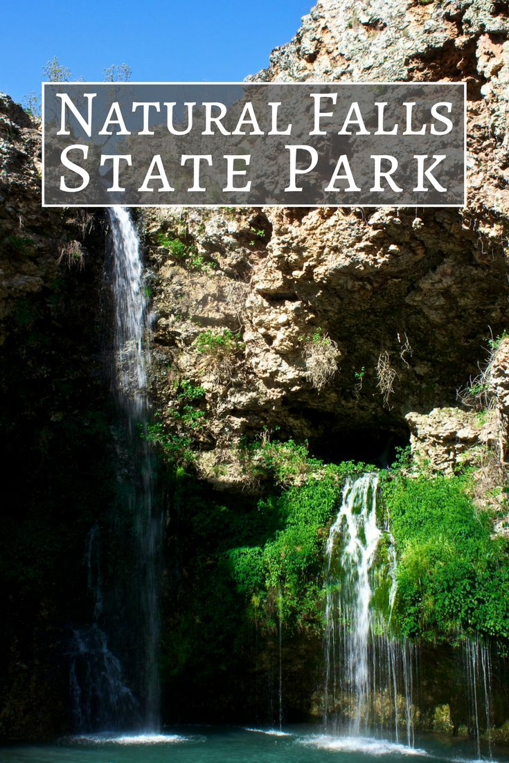 Nestled In The Ozark Mountains Lies Natural Falls State Park