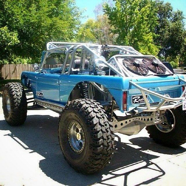 off-road Ford Bronco