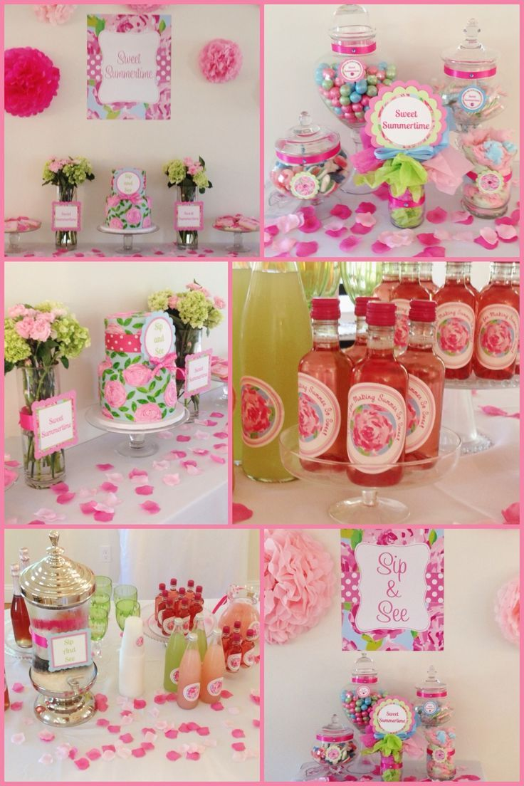 lilly pulitzer parties | Lilly Pulitzer themed party